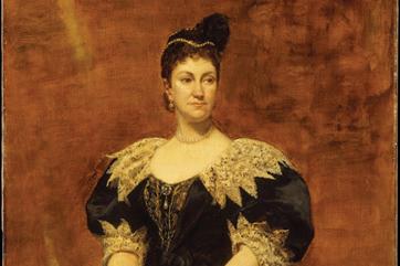 painting of Caroline Schermerhorn Astor