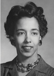 """""""Y.Y."""" Clark at the beginning of her groundbreaking career. Photo courtesy Society of Women Engineers"""