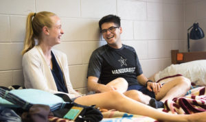 """""""I think the culture of Towers was pretty established—if you were a first-year student and made it over there, it was probably for some party or a club you were part of. Towers always had that air of seniority over Vanderbilt."""" —Daniel Wilson, BS'19"""