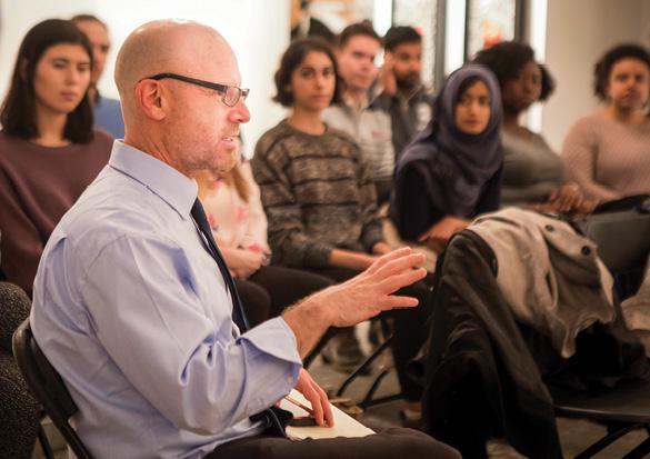 photo of Jonathan Metzl teaching