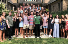 Elizabeth Hawkins, BA'86, and Bill Hawkins, BS'82, hosted the Nashville Summer Send-Off Party this summer. They are the parents of Charlie Hawkins, BA'18, and Eliza Hawkins, Class of 2021.
