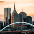 photo of Nashville skyline