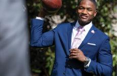 Former Vanderbilt football player Trey Ellis, BA'18, MMark'19 (Chad Driver)