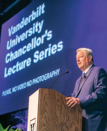 photo of Al Gore at a podium