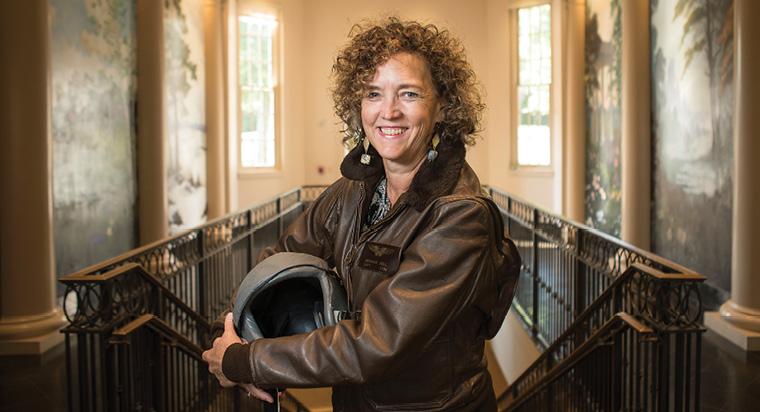 Barbara Bell, EdD'18:  Veteran Vision