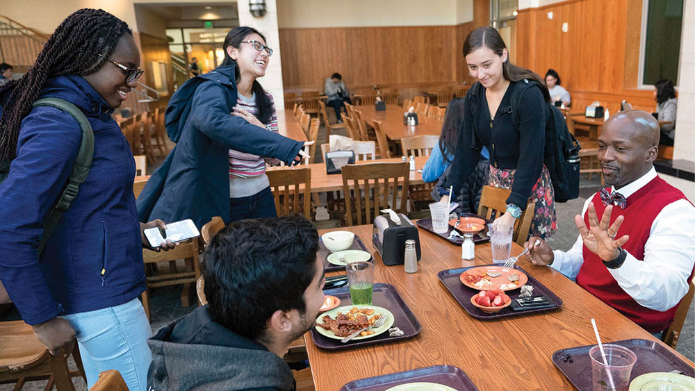 Students and Faculty Dining
