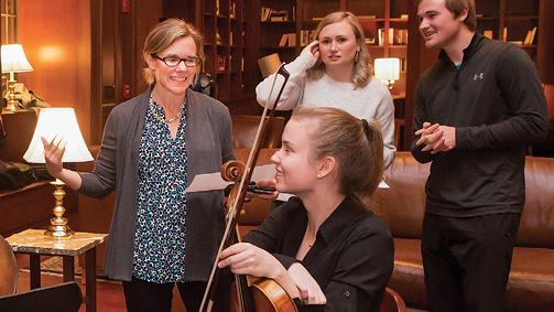Student Musicians with Faculty