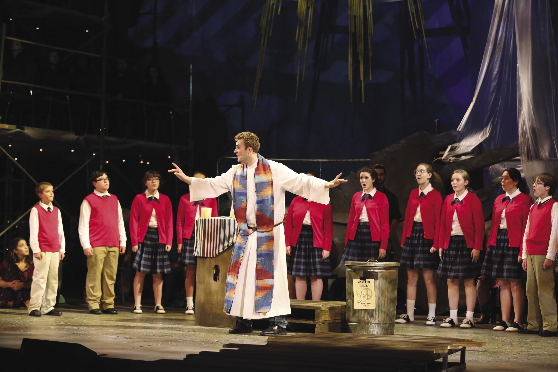 Steven Fiske with Blair Children's Chorus Mass