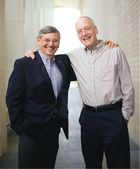 Dwayne Sagen and Roland Schneller