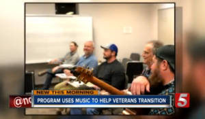 Blair in the news: Power of music helps veterans transition back to civilian life thumbnail image