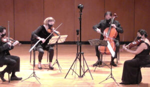 The Blair String Quartet performs online and in 3D virtual reality thumbnail image