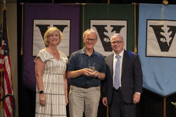Centennial Professor of English Mark Jarman receives Chancellor's Award for Research