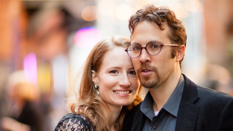 Diana Bellonby and Matthew Duques (both PhD in English, VU) new owners of Penn Book Center
