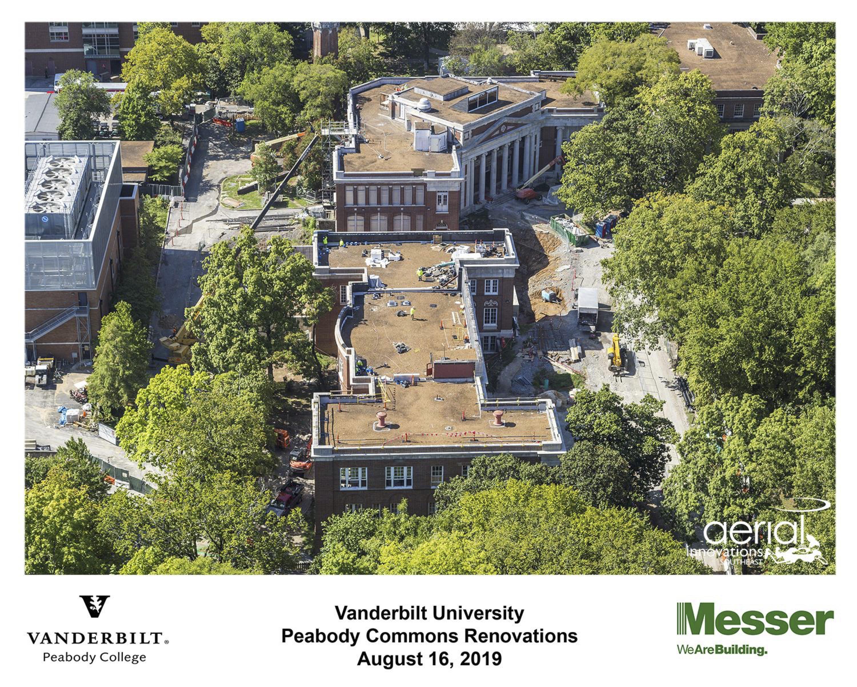 Aerial of Peabody Neighborhood