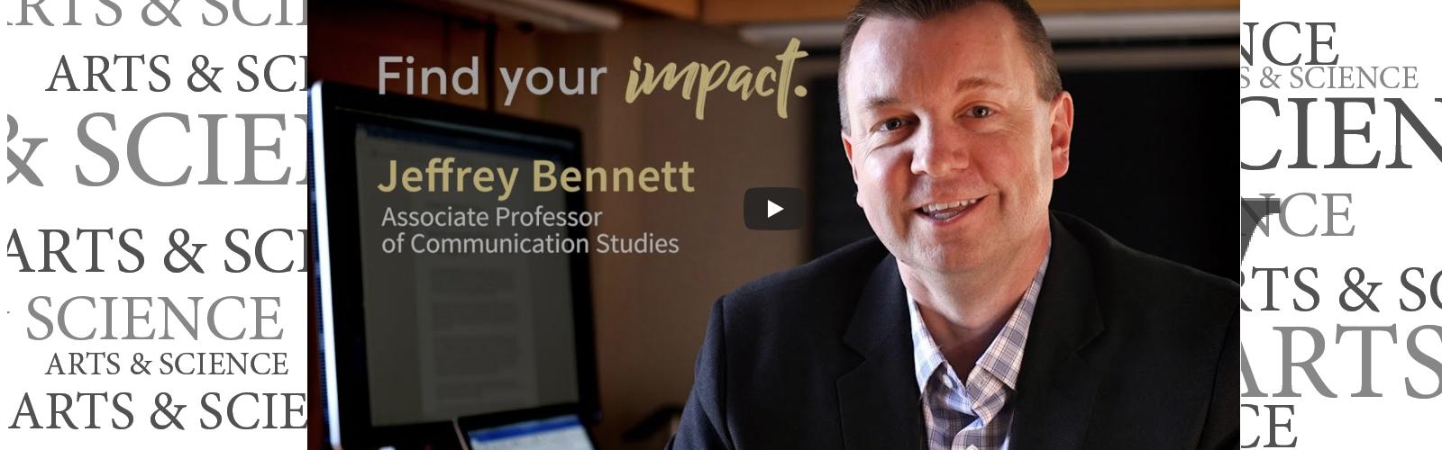 Professor Jeffrey Bennett discusses how words impact treatment of diabetes