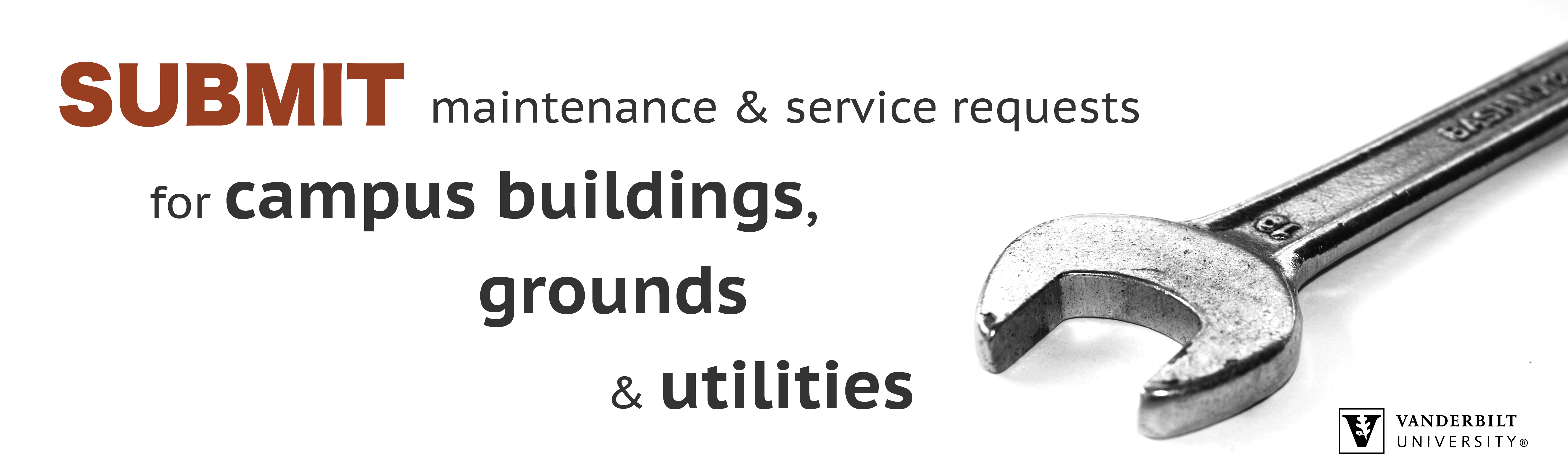 Submit maintenance and service requests