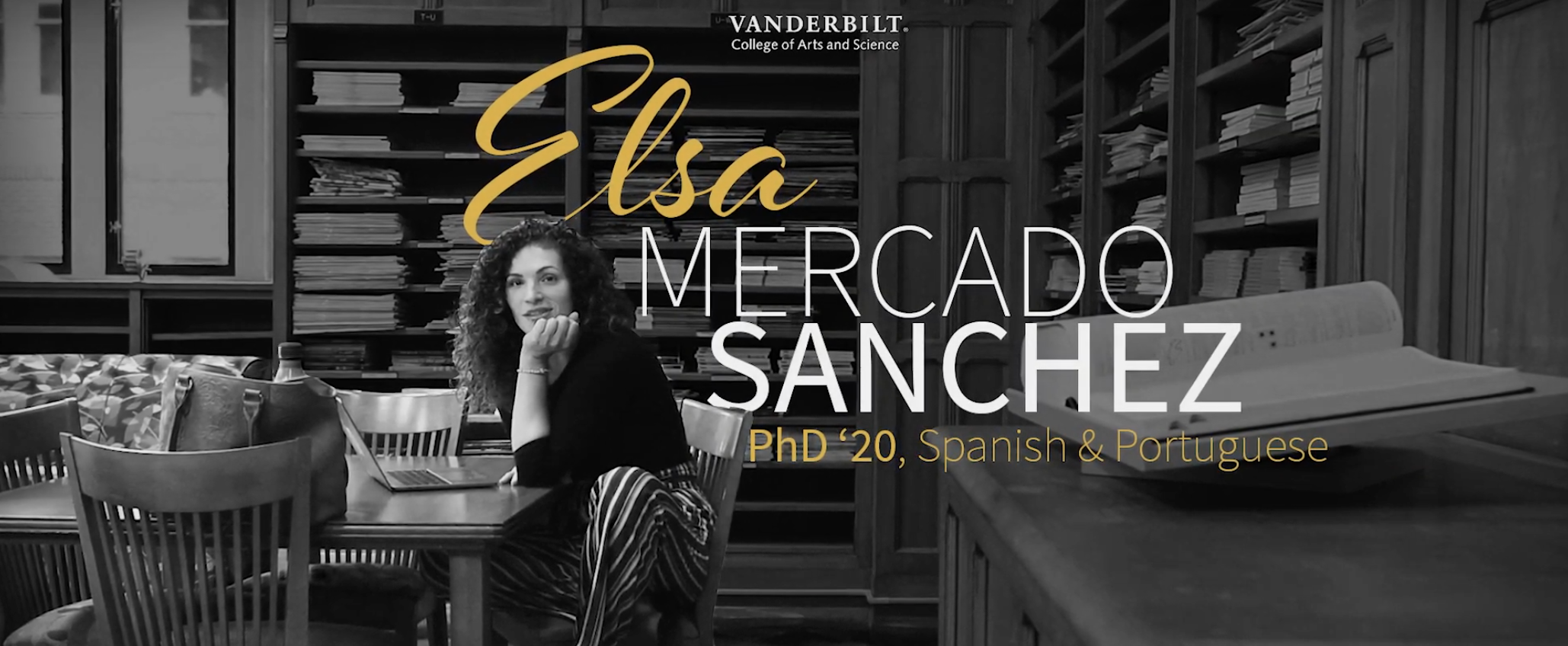 Elsa Mercado Sanchez, Ph.D.'20 | Stronger together: the future of VU's Latinx community