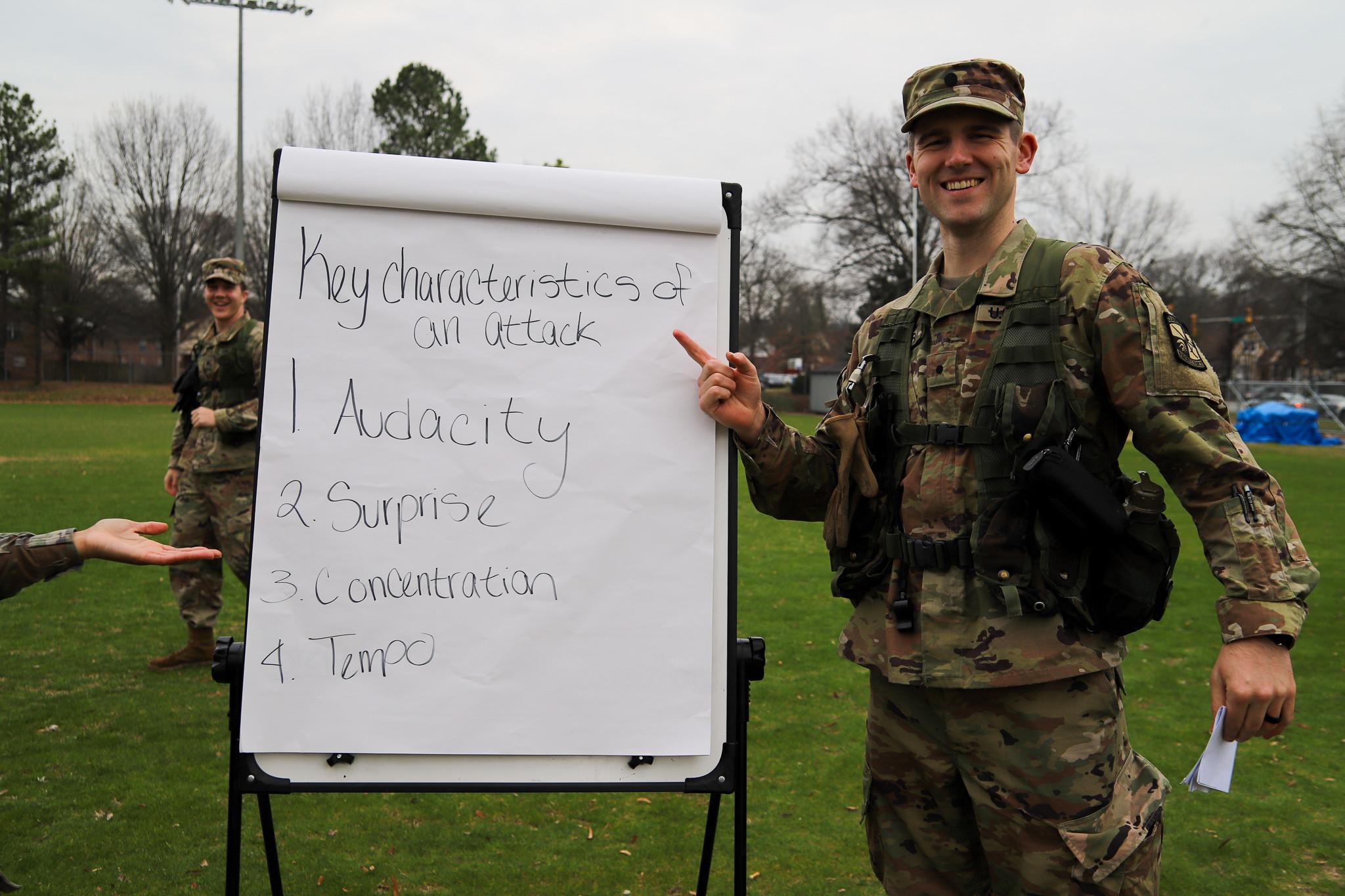 February's Highlighted Cadet: Harrison Ryder