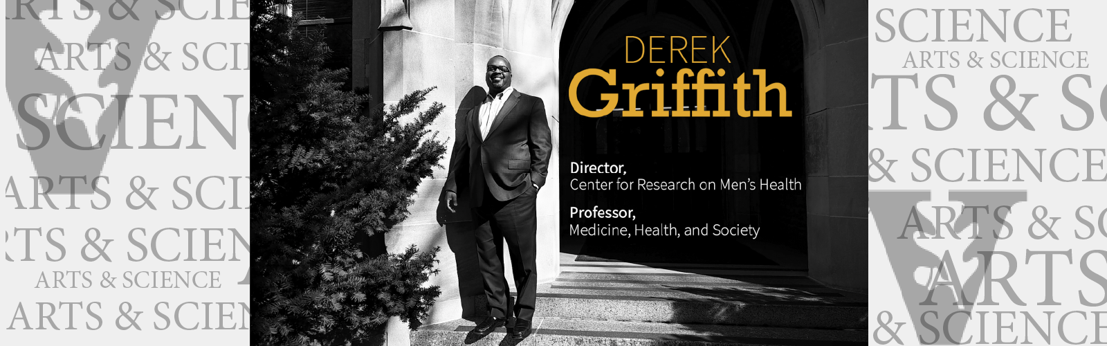 Derek Griffith | Seeing men's health through a new lens