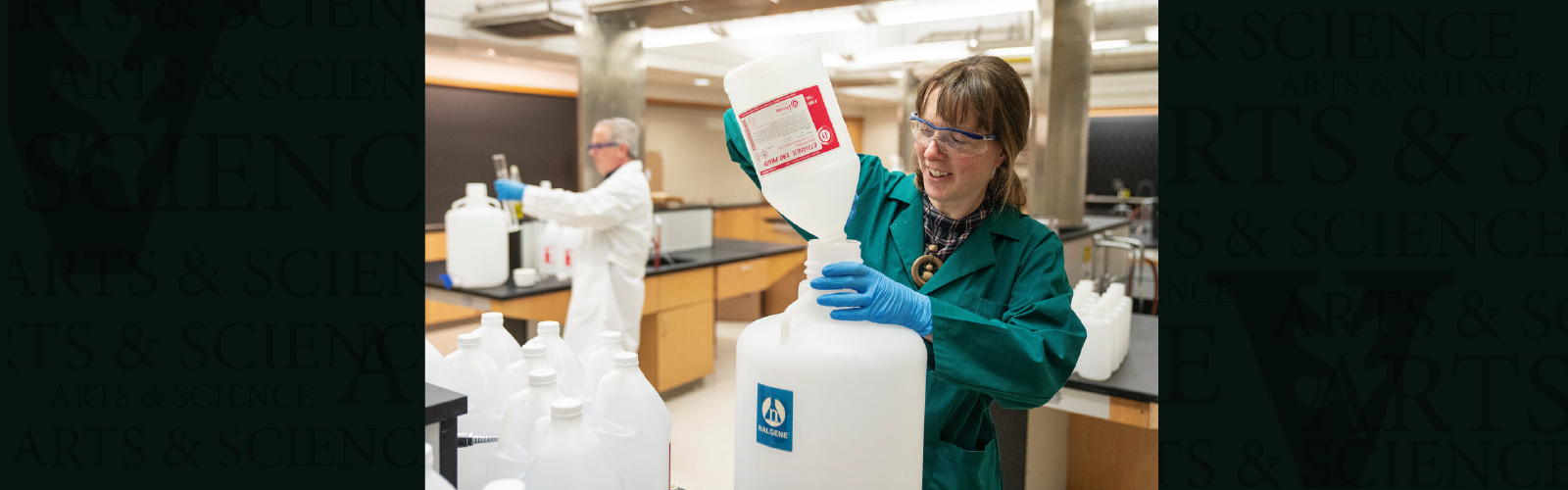 Chemistry department leverages available resources for hand sanitizer production