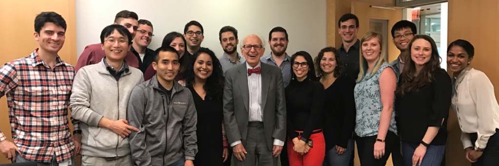 Eric Kandel speaks at the VBI in 2019
