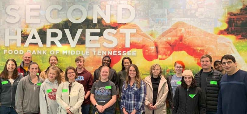 VBI faculty and NGP students volunteer at the Second Harvest, Fall 2019