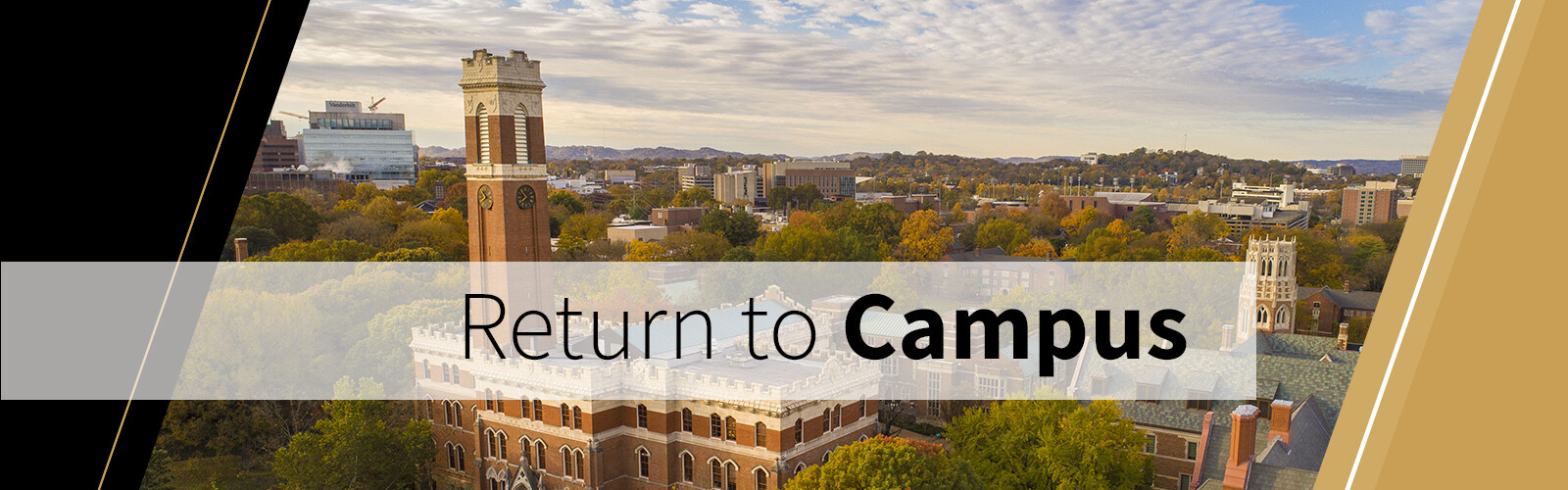 Learn more about the Return to Campus plan at Vanderbilt University.
