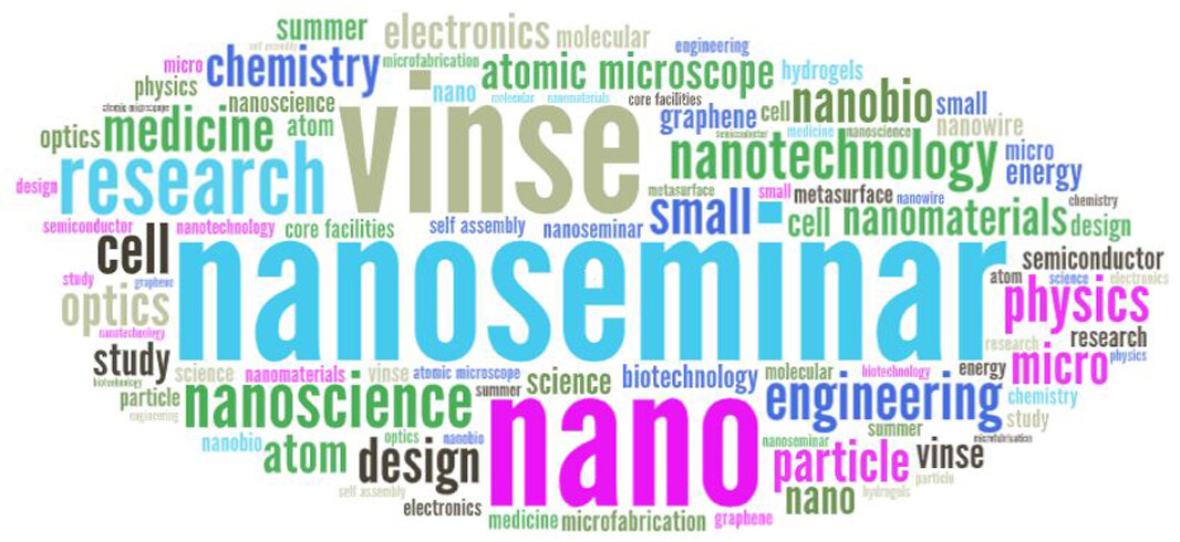 The VINSE summer nanoseminar series provides an opportunity for graduate students or post-docs to share their current research with the larger VINSE community to foster discussion and collaboration.  Click here to see the 2021 Summer Schedule.