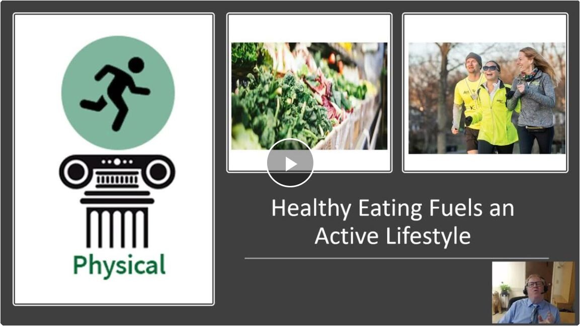 Healthy eating fuels active lifestyle