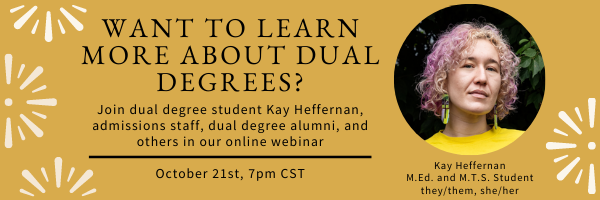Join VDS for a webinar on our 5 dual degree programs!