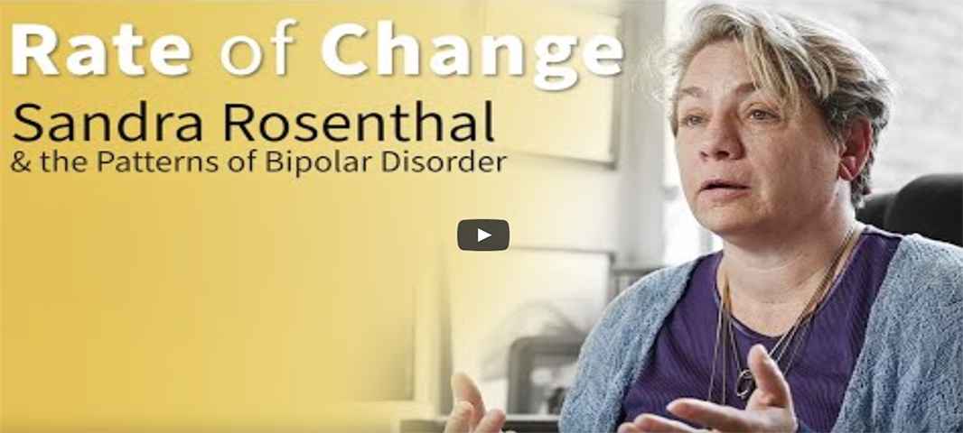Sandra Rosenthal, Jack and Pamela Egan Chair and professor of chemistry, shares how her personal struggle with bipolar disorder influenced her research.