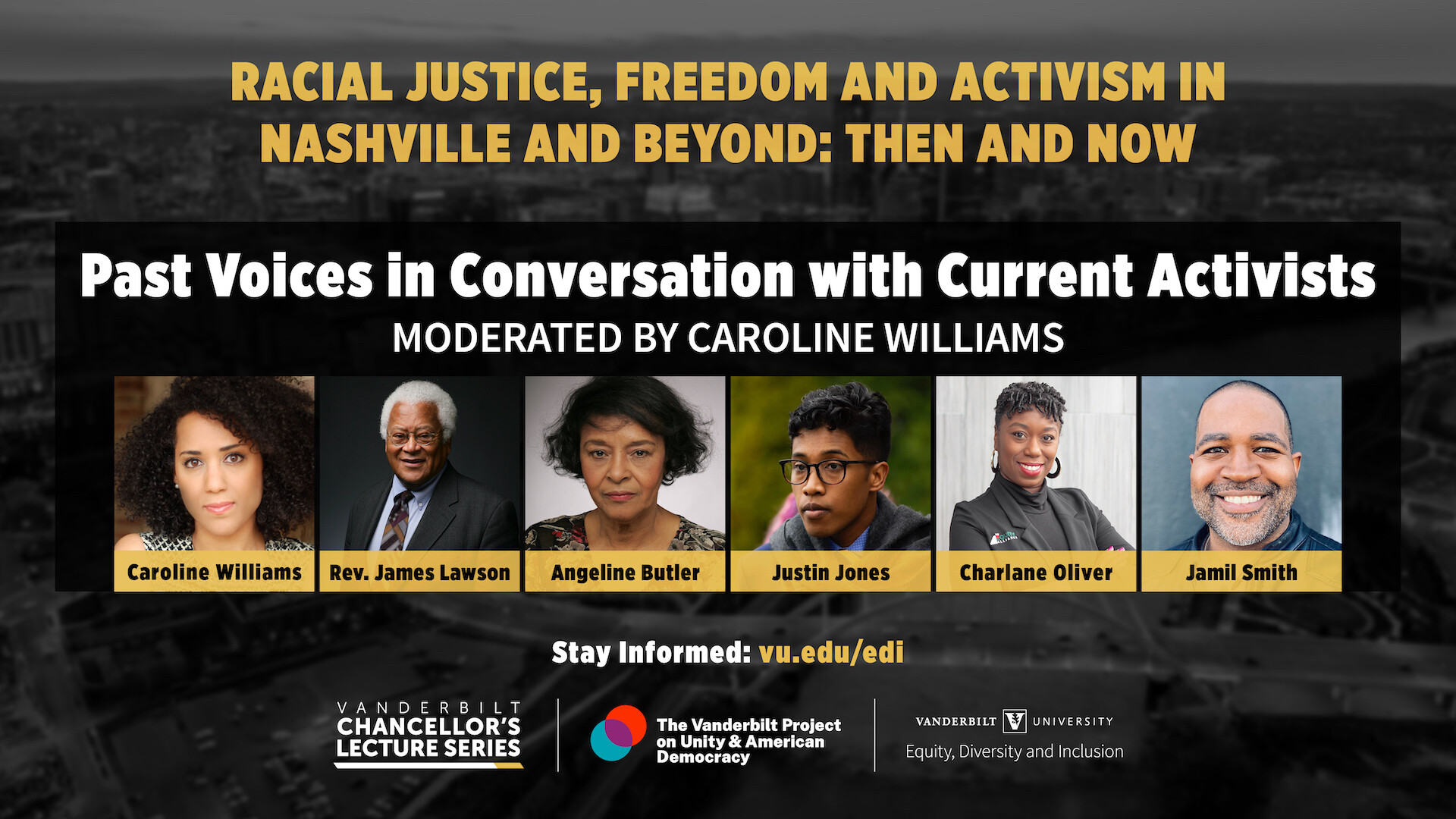 Watch:  Racial Justice, Freedom and Activism in Nashville and Beyond: Then and Now Symposium