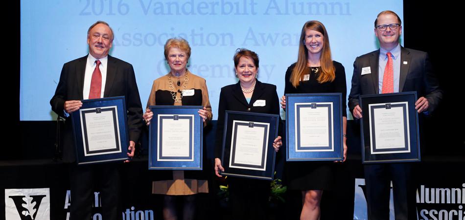 2016 Alumni Award recipients
