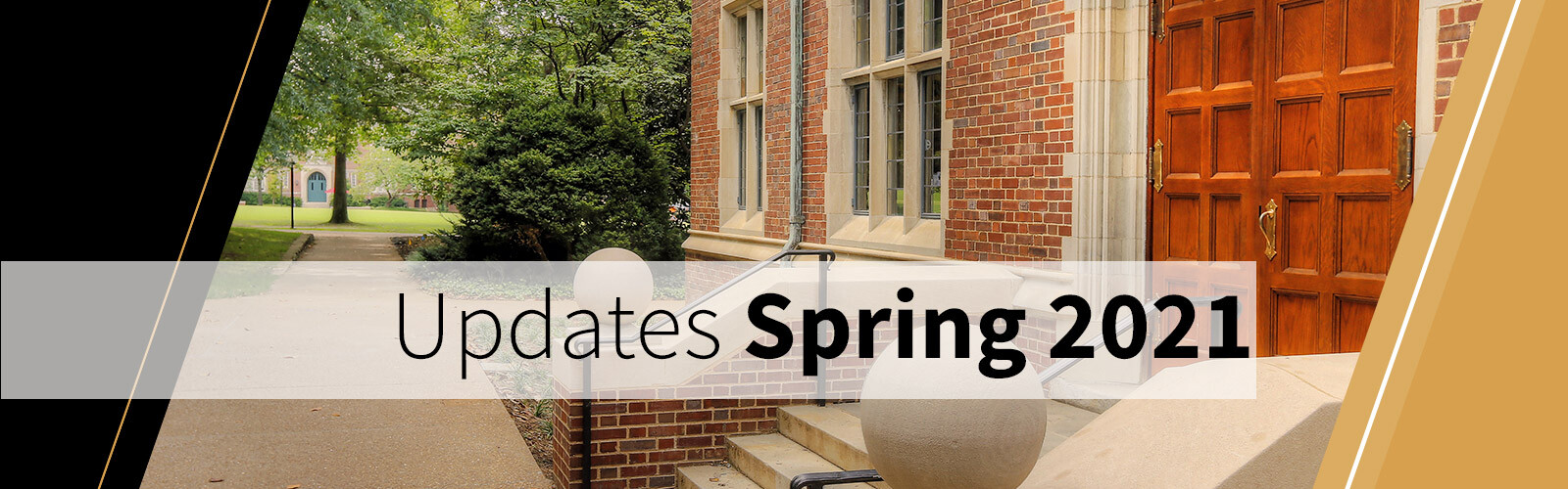 Graduate students: stay informed on the latest updates about the spring semester