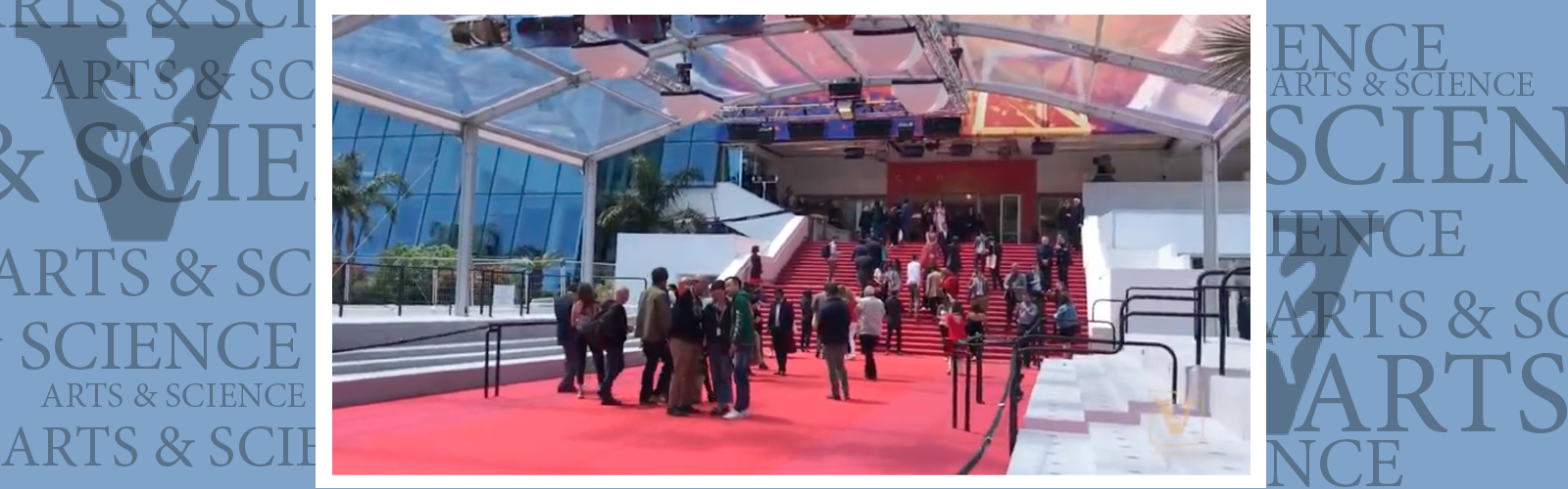Walking the red carpet at Cannes … for class credit!