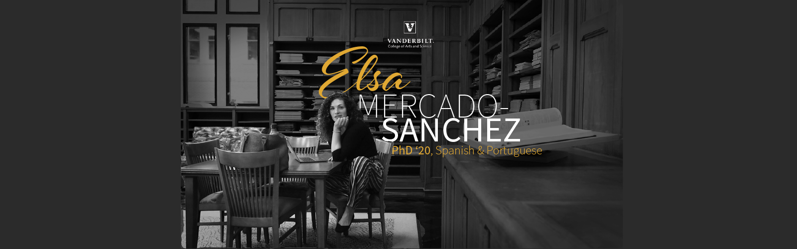 Elsa Mercado Sanchez, PhD'20 | Stronger together: the future of VU's Latinx community
