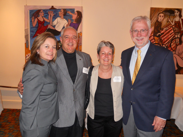 Reception with Provost Richard McCarty