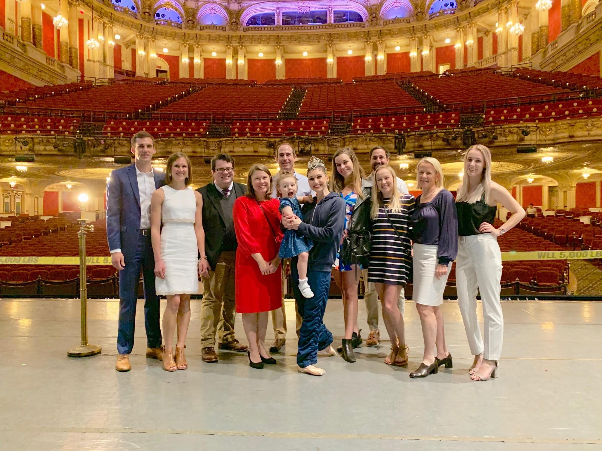 Alumni at the Ballet