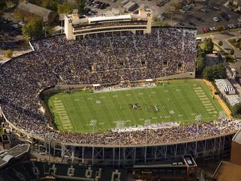 Vanderbilt University Football 2008 Season Gameday At Vanderbilt