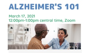 VMAC Free Lunch & Learn Alzheimer's 101 Event on March 17