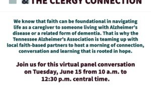 The Alzheimer's Crisis & The Clergy Connection Virtual Panel Conversation