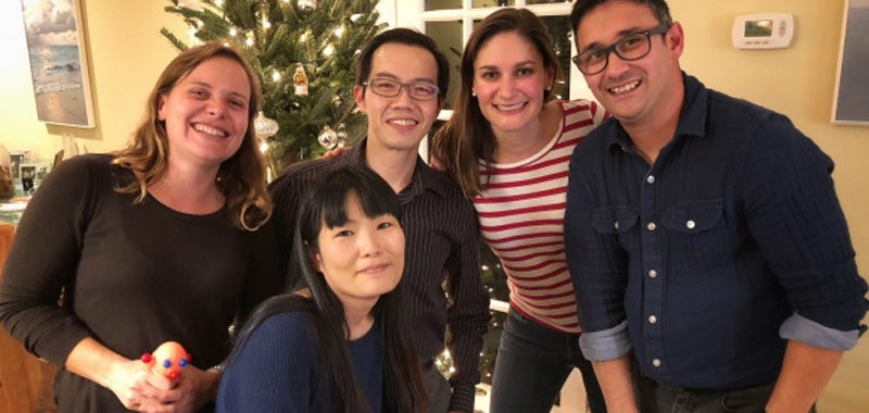 Post Docs at the 2017 Christmas Party