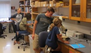 Third and Fourth Graders visit the Miller lab