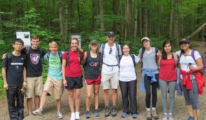 The Miller lab summits Mt Leconte!