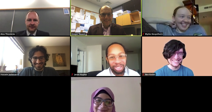 Neuert lab virtual group meeting 2020