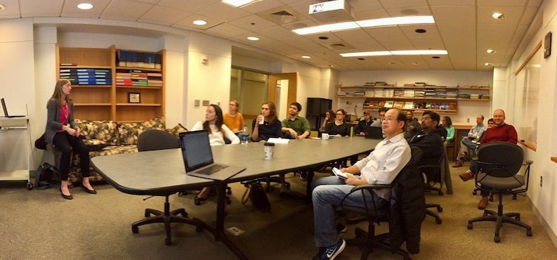 Vanderbilt Microbiome Initiative colleagues meet throughout the year to discuss research, education, and service.