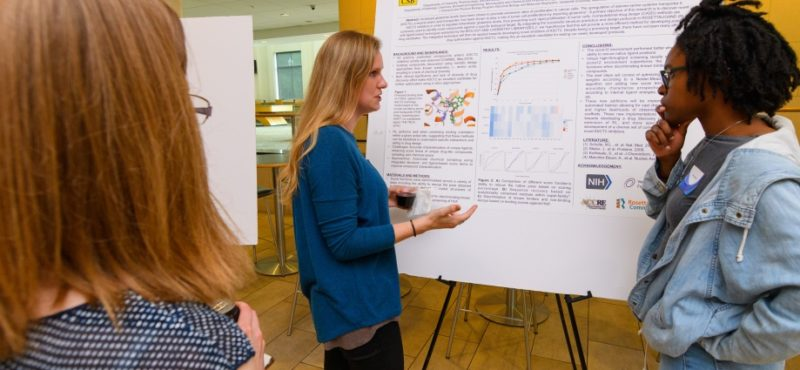 Shannon Smith explains details on Poster to Brennica Marlow