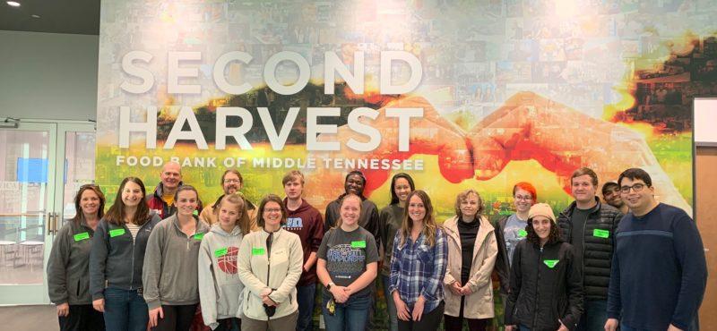 Volunteering at Second Harvest Food Bank