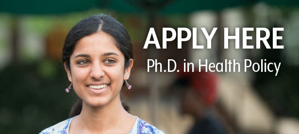 Health Policy Ph.D. Apply Button