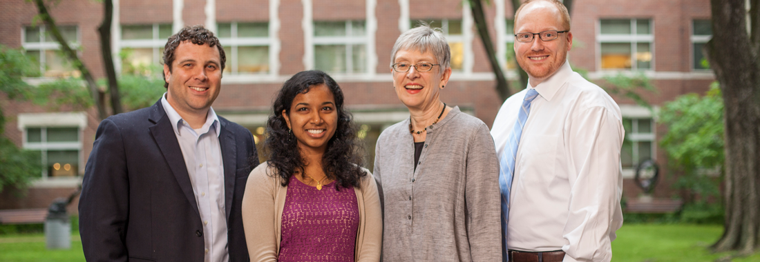 Kalpana Manthiram, MD, MSCI ('15) NIH Fellow Pediatric Infectious Disease, with her Mentor: Dr. Kathryn Edwards